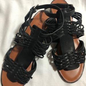 NWOB 1.STATE Womens Maliyah Black Sandals